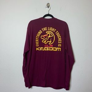 The Lion King Red Long Sleeve T Shirt